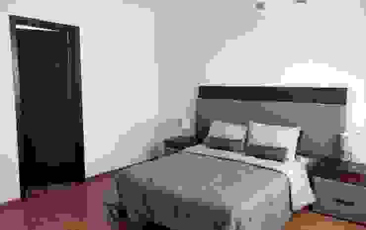 Modern style bedroom by homify Modern Bricks
