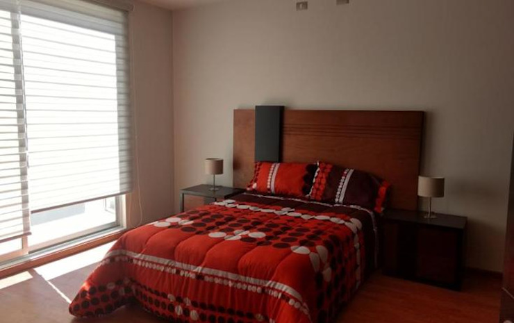 Modern Bedroom by homify Modern Bricks