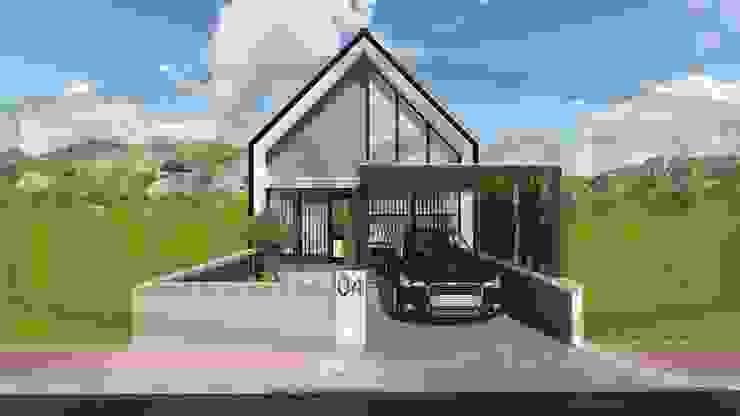 Proyek Rumah Minimalis Tropis Bapak Andrey - Bekasi 1 Oleh Exacon Multi Rekayasa