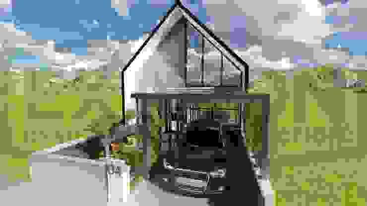 Proyek Rumah Minimalis Tropis Bapak Andrey - Bekasi 3 Oleh Exacon Multi Rekayasa