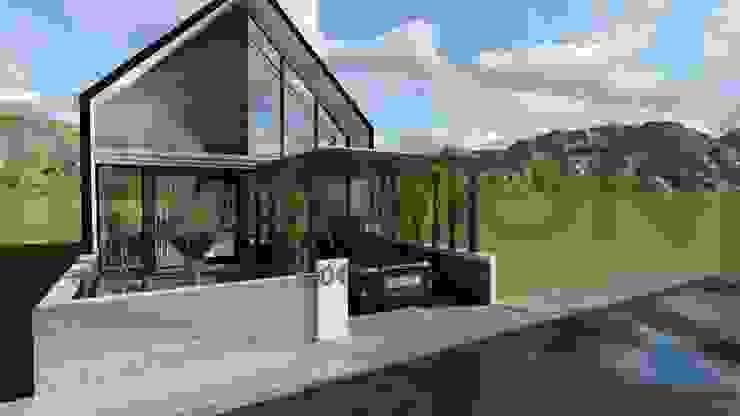 Proyek Rumah Minimalis Tropis Bapak Andrey - Bekasi 4 Oleh Exacon Multi Rekayasa