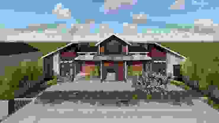 Proyek Rumah Minimalis Modern Bapak Rafa - Depok 1 EXACON Oleh Exacon Multi Rekayasa
