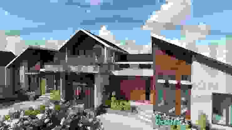 Proyek Rumah Minimalis Modern Bapak Rafa - Depok 2 EXACON Oleh Exacon Multi Rekayasa