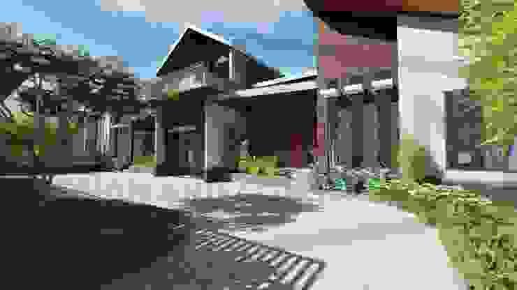 Proyek Rumah Minimalis Modern Bapak Rafa - Depok 6 EXACON Oleh Exacon Multi Rekayasa