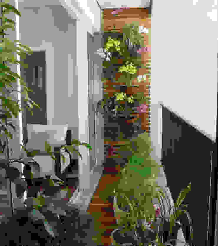 Biến ban công thành khu vườn nhỏ trang trí cho ngôi nhà. bởi Công ty TNHH TK XD Song Phát Châu Á Đồng / Đồng / Đồng thau