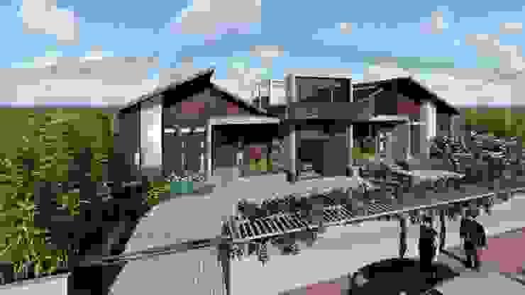 Proyek II Rumah Minimalis Modern Bapak Rafa - Depok 5 EXACON Oleh Exacon Multi Rekayasa