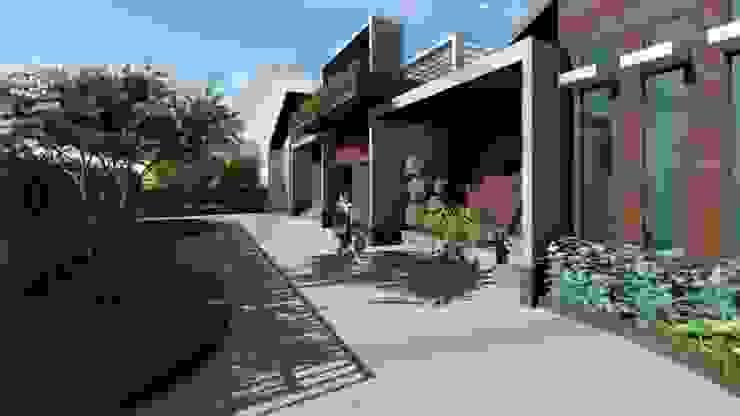 Proyek II Rumah Minimalis Modern Bapak Rafa - Depok 6 EXACON Oleh Exacon Multi Rekayasa