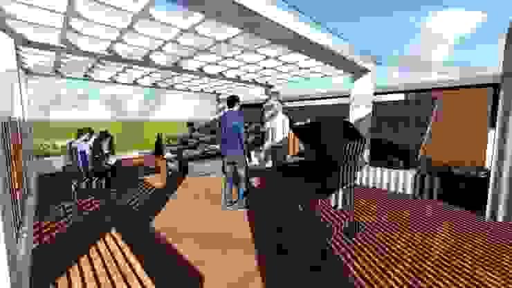 Proyek II Rumah Minimalis Modern Bapak Rafa - Depok 8 EXACON Oleh Exacon Multi Rekayasa