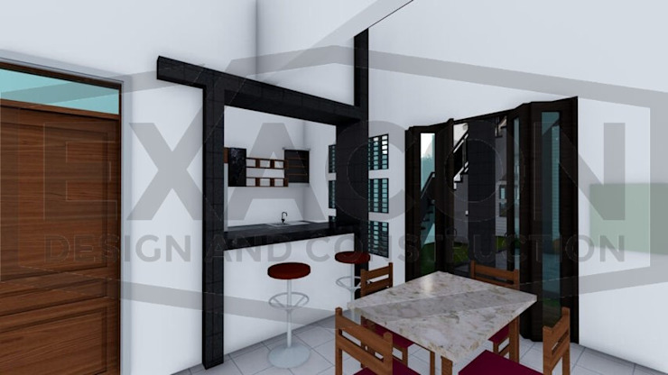 Proyek II Rumah Minimalis Modern Bapak Rafa - Depok 10 EXACON Oleh Exacon Multi Rekayasa