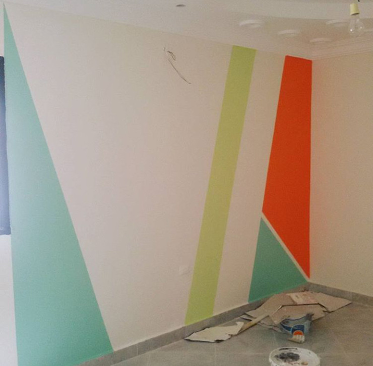 Minimalist nursery/kids room by Etihad Constructio & Decor Minimalist