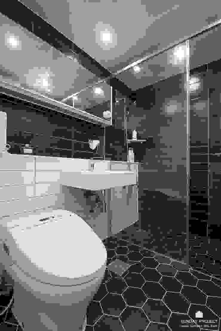 마포구 상암동 상암월드컵파크 4단지 33평 인테리어 모던스타일 욕실 by 선데이프로젝트 모던