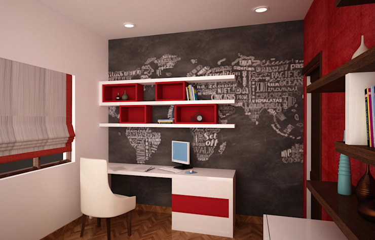 9 Study Table Design Ideas For The Children S Room Homify,Sketch Architecture Art Design