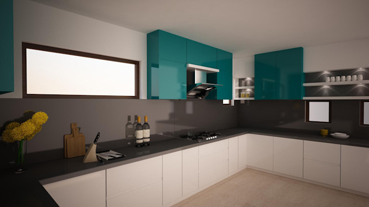 What Kitchen Colours Are Ideal For Indian Homes Homify