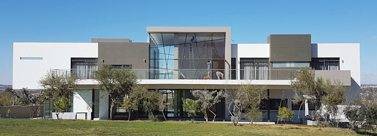 Steyn City Modern Houses by AVR Architects Modern