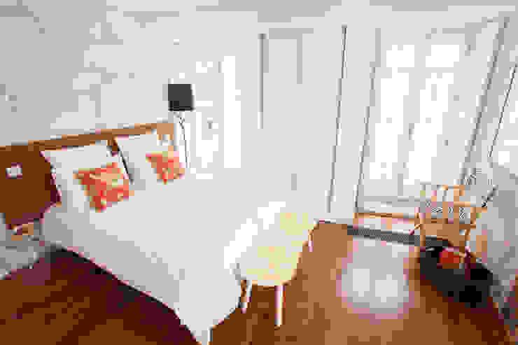 Apartamentos Rua de Trás - Alojamento turístico (7 apartamentos) - Centro do Porto Quartos escandinavos por ShiStudio Interior Design Escandinavo