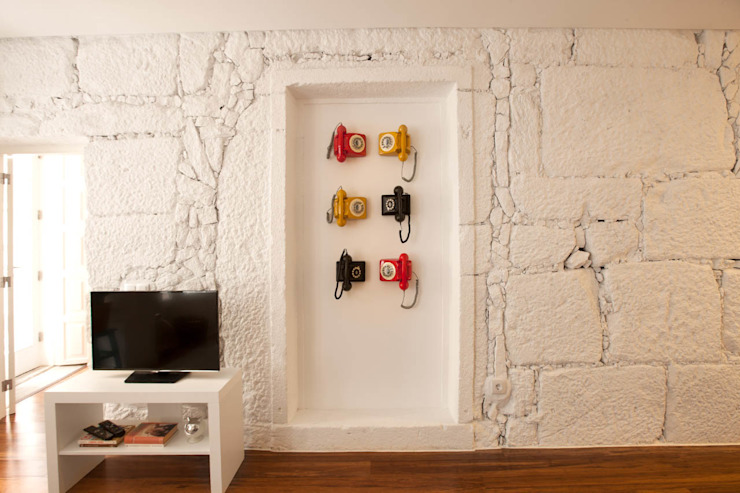 Apartamentos Rua de Trás - Alojamento turístico (7 apartamentos) - Centro do Porto ShiStudio Interior Design Salas de estar escandinavas