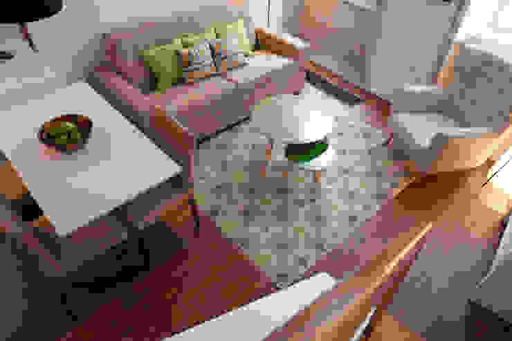 ShiStudio Interior Design Scandinavian style living room