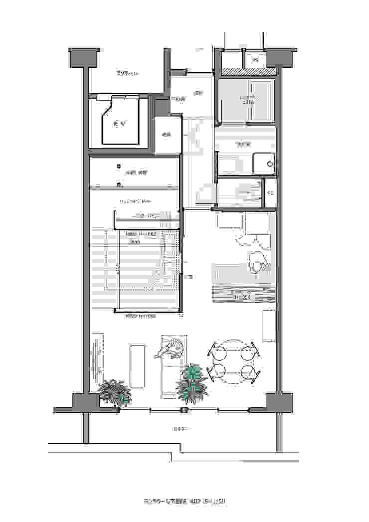 modern  by Mimasis Design/ミメイシス デザイン, Modern