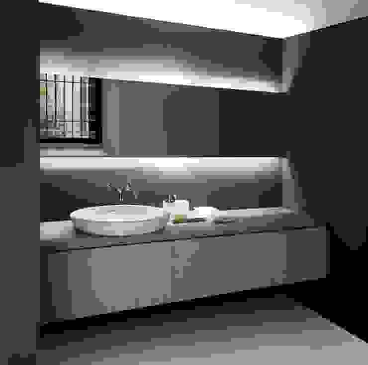 Baños de estilo moderno de Omnitrack Moderno