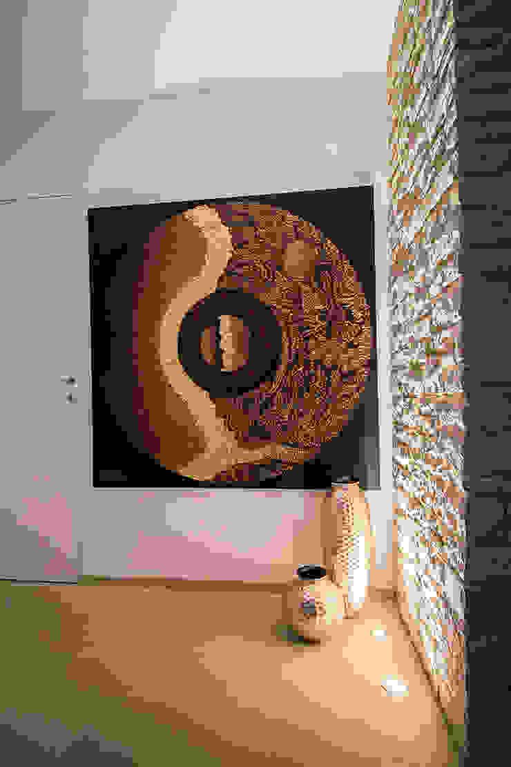 evoluzione intima Studio di Segni Ingresso, Corridoio & Scale in stile moderno