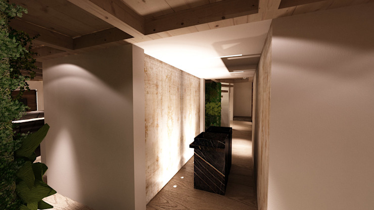 Studio di Segni Modern bathroom