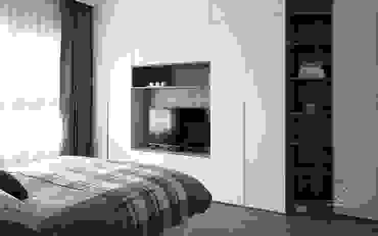 主臥室 根據 極簡室內設計 Simple Design Studio 簡約風