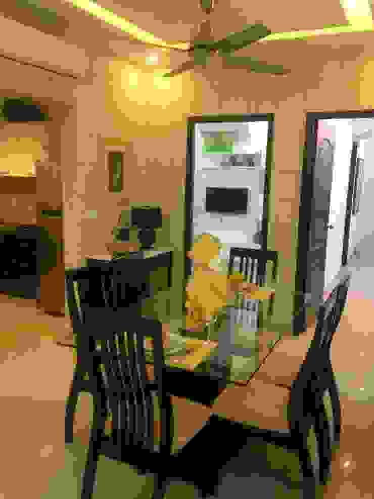 residential interiors Modern corridor, hallway & stairs by SDINC Modern