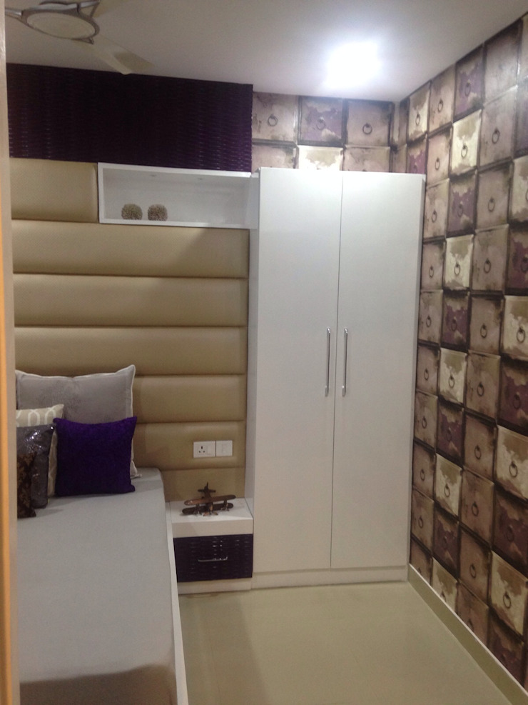 Camera da letto moderna di SDINC Moderno