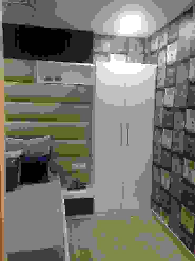 residential interiors Modern style bedroom by SDINC Modern