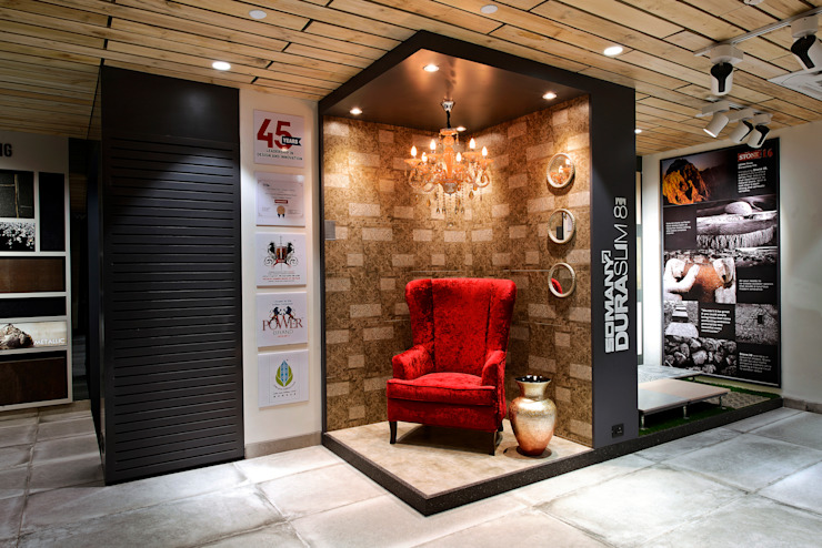 SOMANY EXPERIENCE CENTER Classic offices & stores by Ar. Milind Pai Classic Tiles