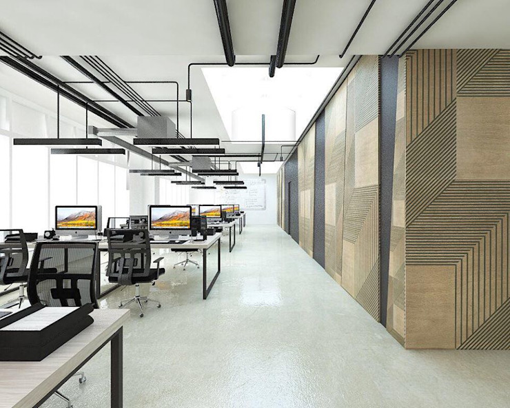 Modern study/office by PanelPanel Modern Plywood