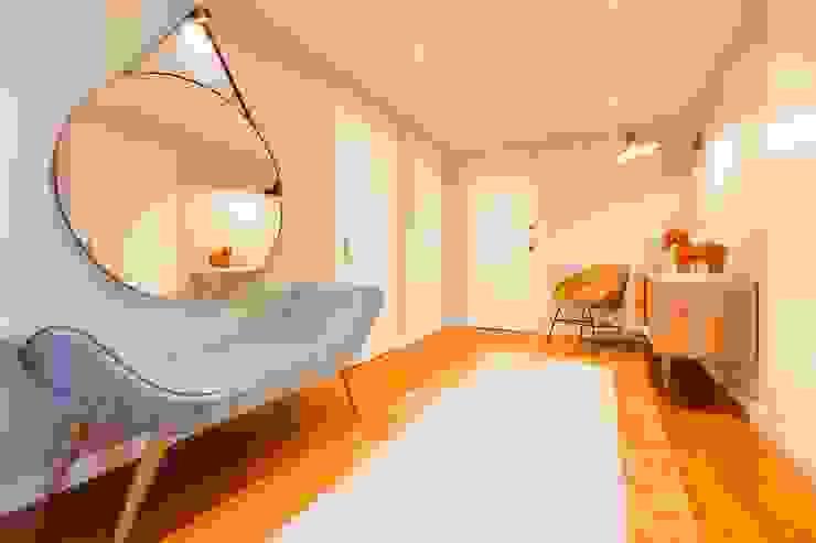 Apartamento Edifício do Parque - T4 MATOSINHOS por ShiStudio Interior Design Escandinavo
