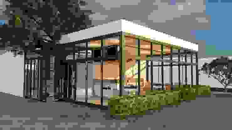 ออกแบบร้านกาแฟ ให้ลูกค้า โดย mayartstyle กระจกและแก้ว