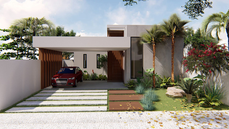 Casa CT: Casas  por TRAD,Eclético