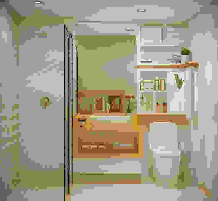 SCK Arquitetos Modern bathroom