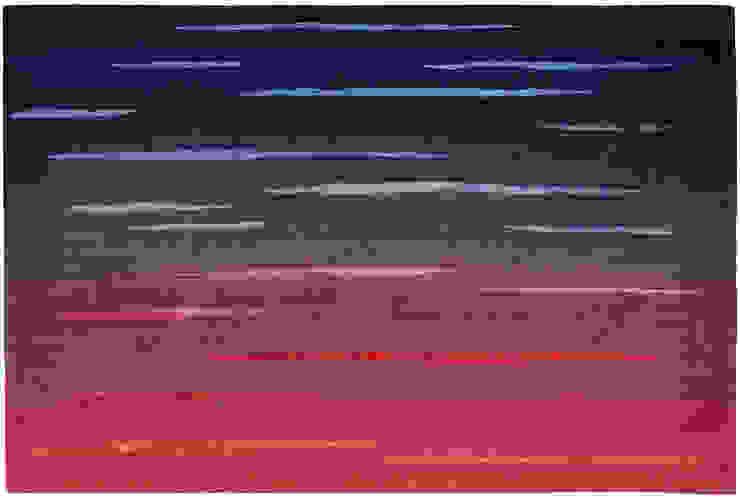 Deirdre Dyson DUSK hand knotted wool & silk rug by Deirdre Dyson Carpets Ltd Modern