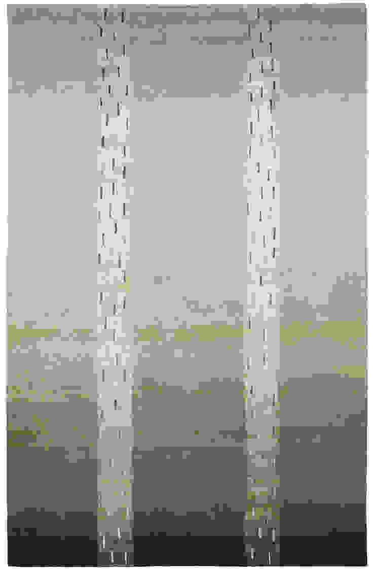 Deirdre Dyson RIVULETS hand knotted wool & silk rug by Deirdre Dyson Carpets Ltd Modern