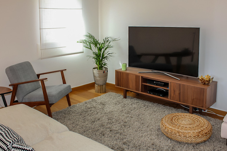 Sala de estar Rima Design Sala de estarTV e mobiliário
