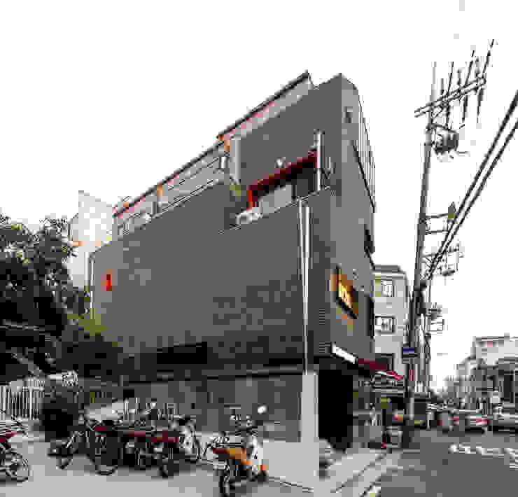 마포구 근생 입면도: 집으로의 현대 ,모던