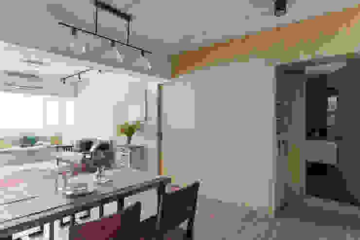 辰林設計 Scandinavian style dining room Wood effect