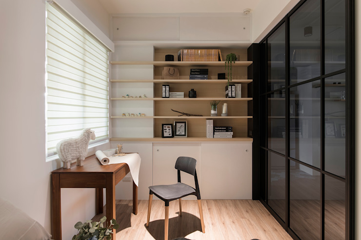 辰林設計 Study/office Beige