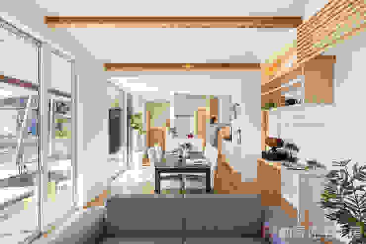納得住宅工房株式会社 Nattoku Jutaku Kobo.,Co.Ltd. 现代客厅設計點子、靈感 & 圖片