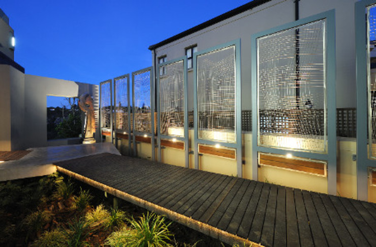 Residence, Little Walmer Golf Estate Modern Garden by The Matrix Urban Designers and Architects Modern