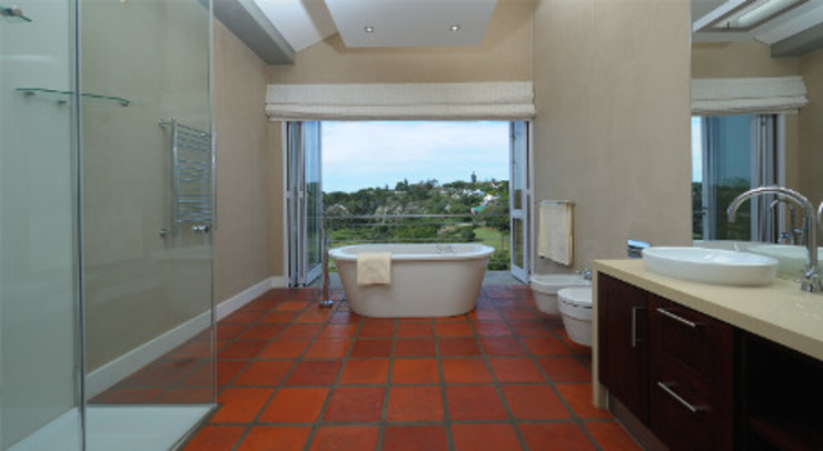 Residence, Little Walmer Golf Estate Modern bathroom by The Matrix Urban Designers and Architects Modern