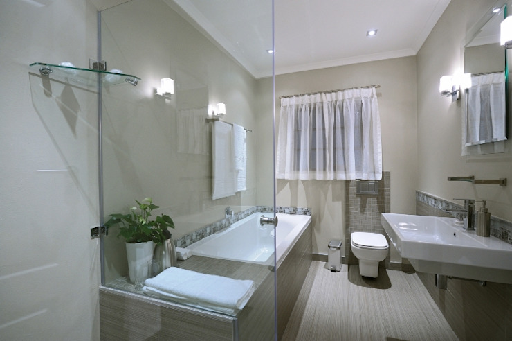 Renovations to Gardenview Guest House Modern bathroom by The Matrix Urban Designers and Architects Modern