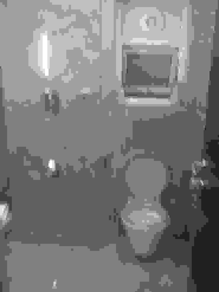 DUPLEX BUNGLAW Modern bathroom by R.S Interiors Modern
