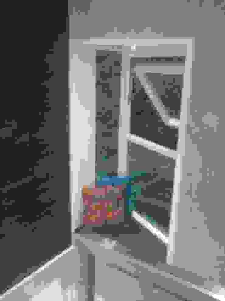 DUPLEX BUNGLAW Modern windows & doors by R.S Interiors Modern