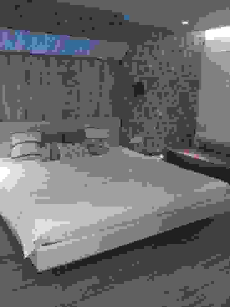 DUPLEX BUNGLAW Modern style bedroom by R.S Interiors Modern