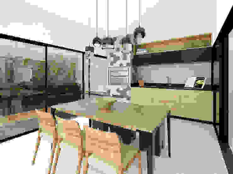 Residência Pq. Esplanada Salas de jantar clássicas por Isabela Notaro Arquitetura e Interiores Clássico