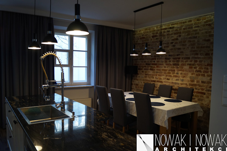 Modern dining room by Nowak i Nowak Architekci Modern